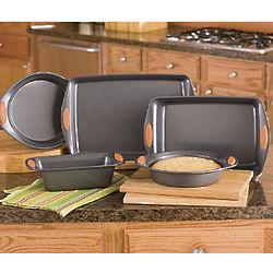 Rachael Ray 5-Piece Nonstick Bakeware Set