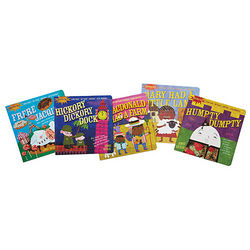 Indestructibles Nursery Rhyme Books