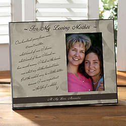 Personalized 100 Years from Now Picture Frame for Mom