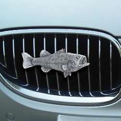 Largemouth Bass Car Grill Ornament
