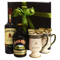 Irish Coffee with Jameson and Baileys Gift Basket