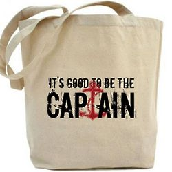 Deadliest Catch Good to Be Captain Tote Bag