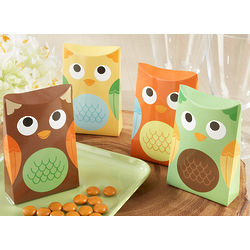Owl Favor Boxes