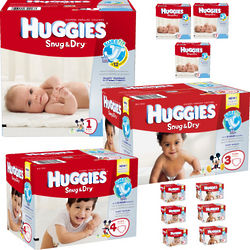 12 Months Diapers and Wipes Delivery Service
