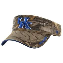 Kentucky Wildcats Camo Adjustable Visor