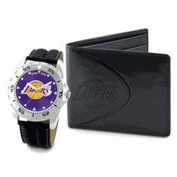 Los Angeles Lakers Watch and Wallet