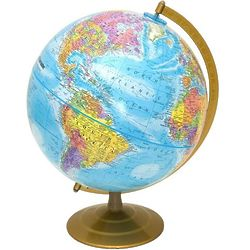 "Globemaster 12"" World Globe"