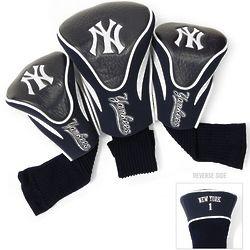NY Yankees Golf Club 3 Piece Contour Headcover Set