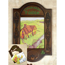Changeable Season Irish Plaque