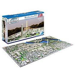 4-D Cityscape Washington, DC Puzzle