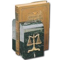Scales of Justice Bookends