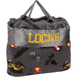 Personalized Race Car Nap Bag