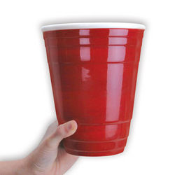 Giant Red Cup