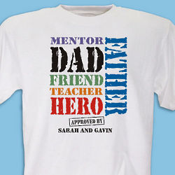 Dad, My Hero T-Shirt
