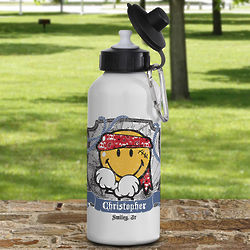 Smiley Junior Personalized Kid's Water Bottle
