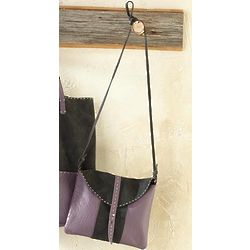 Avalon Two-Tone Unstructured Tote Crossbody Bag