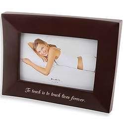 Sleek Rosewood Photo Frame