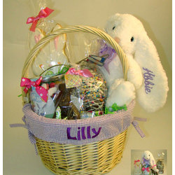 Personalized & Filled Easter Basket