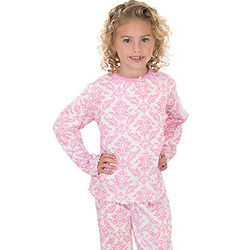 Pretty in Pink Pajamas for Girls