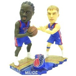 Detroit Pistons Milicic & Wallace Bobble Mates