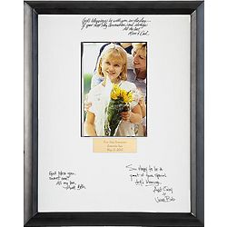 Personalized Communion or Confirmation Autograph Frame