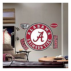 Alabama Crimson Tide Logo Wall Decal