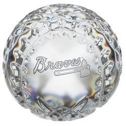 Waterford Crystal Atlanta Braves Baseball
