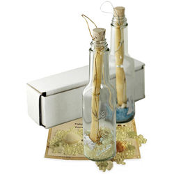 Invitation in A Bottle with Potpourri