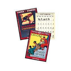 Vintage College Sports 2012 Calendar