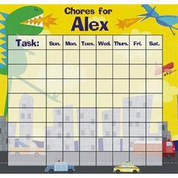 Dinosaur Personalized Chore Chart