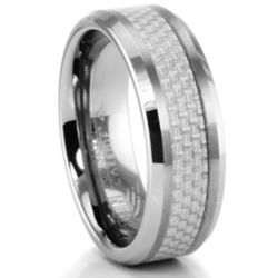 Brutus Tungsten and Carbon Fiber Ring