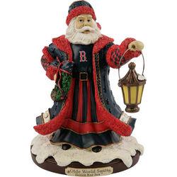 Boston Red Sox Olde World Santa Figurine