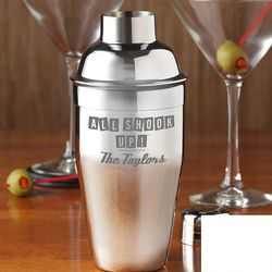 Elvis Presley Personalized Cocktail Shaker