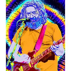 Jerry Garcia Pop Art Print