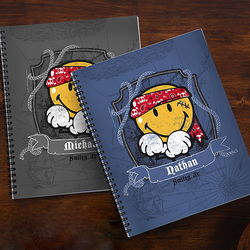 Kid's Personalized Smiley Jr Notebook