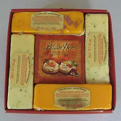 Just a Taste Cheese and Cheese Spread Gift Box