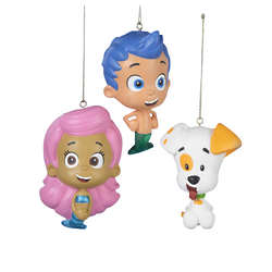 Molly Bubble Guppies Ornament