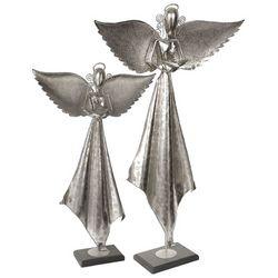 Angel Sculpture in Antique Nickel Finish