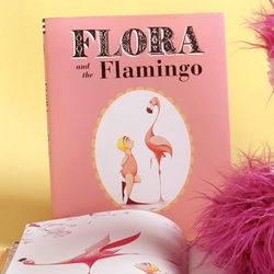Flora and the Flamingo Children's Picture Book