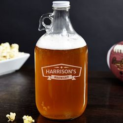 Classic Brewery Personalized Beer Growler