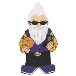 Los Angeles Lakers Novelty Garden Gnome