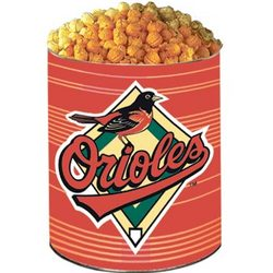 Baltimore Orioles 3-Way Popcorn Tin