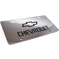 Personalized Chrome Plated License Plate