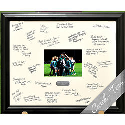 Personalized Celebrations Coach/Team Signature Frame