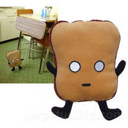 Mr. Toast Plushie Toy