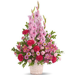 Heavenly Heights Sympathy Flowers