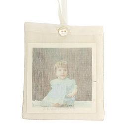 Handmade Photo Pocket Ornament