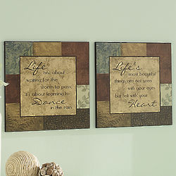 Life Quote Plaques
