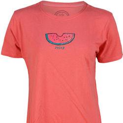Womens Juicy Watermelon Tennis Tee