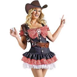 Shotgun Sheriff Adult Women's Costume